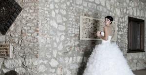 Hiloterapi yönteminin de kullandıldığı gelin - düğün estetiği.